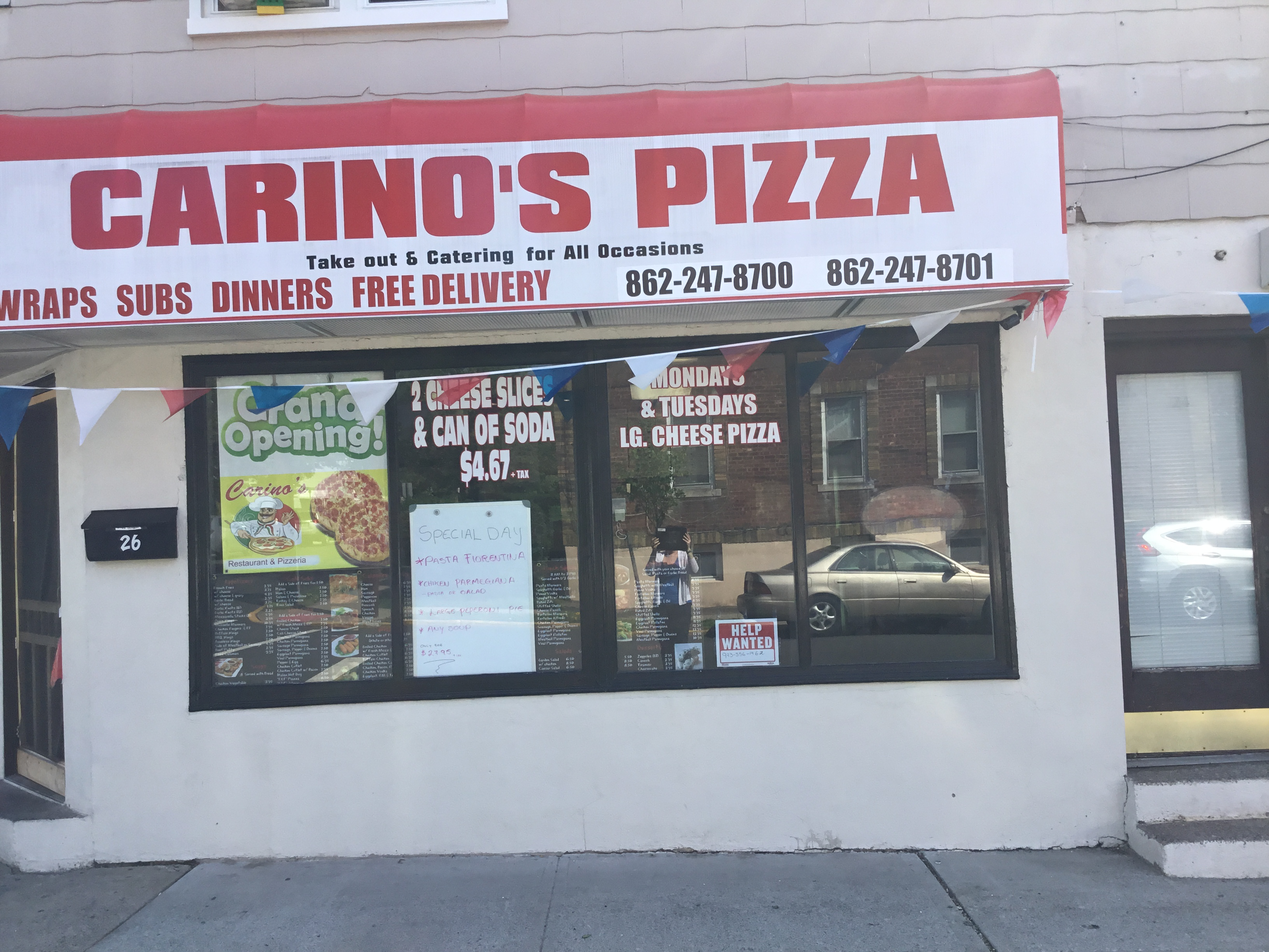Carimo's Restaurant and pizzeria image 1