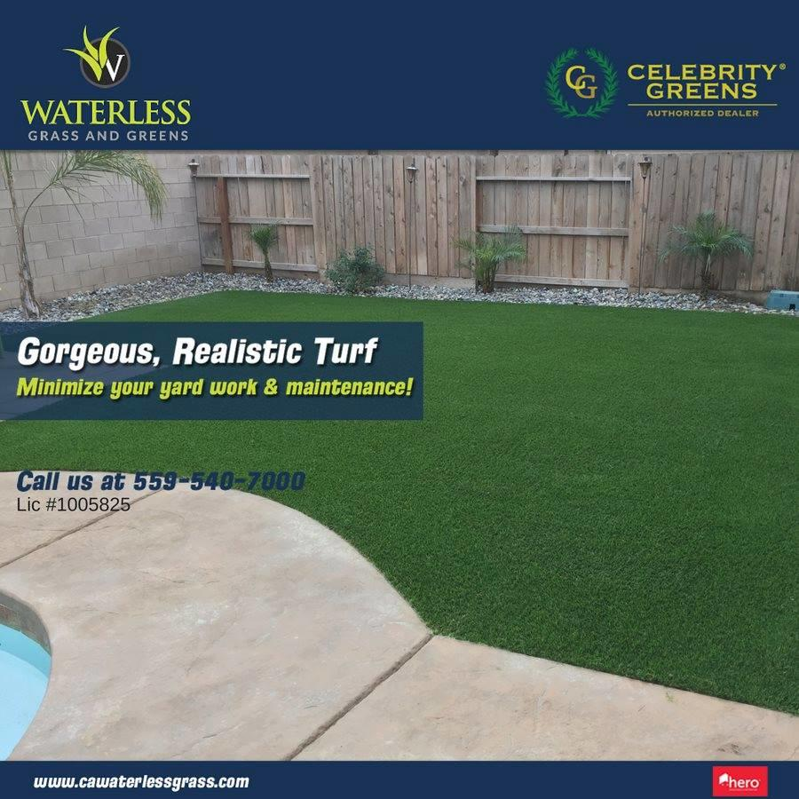 Waterless Grass and Greens image 1