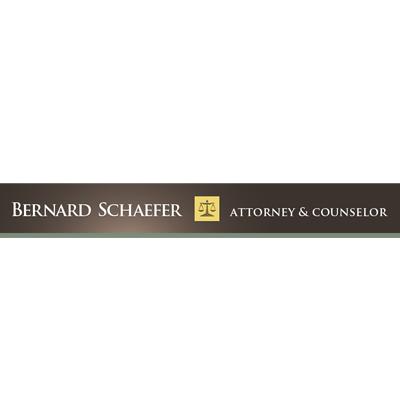 Bernard SchaeferAttorney And Counselor