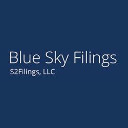 Blue Sky Filings