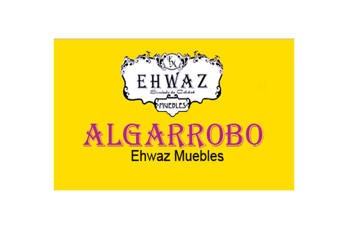 ALGARROBO EHWAZ MUEBLES - FABRICA - VENTA AL PUBLICO