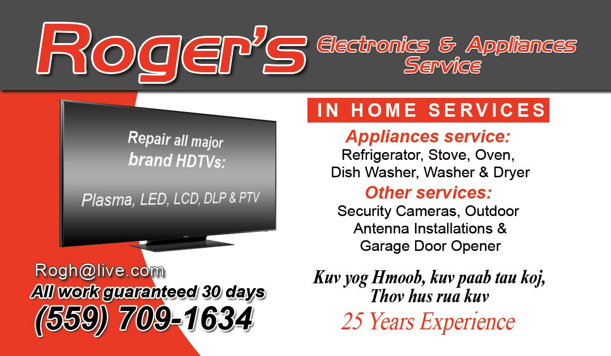 Roger's Appliance Repair image 0