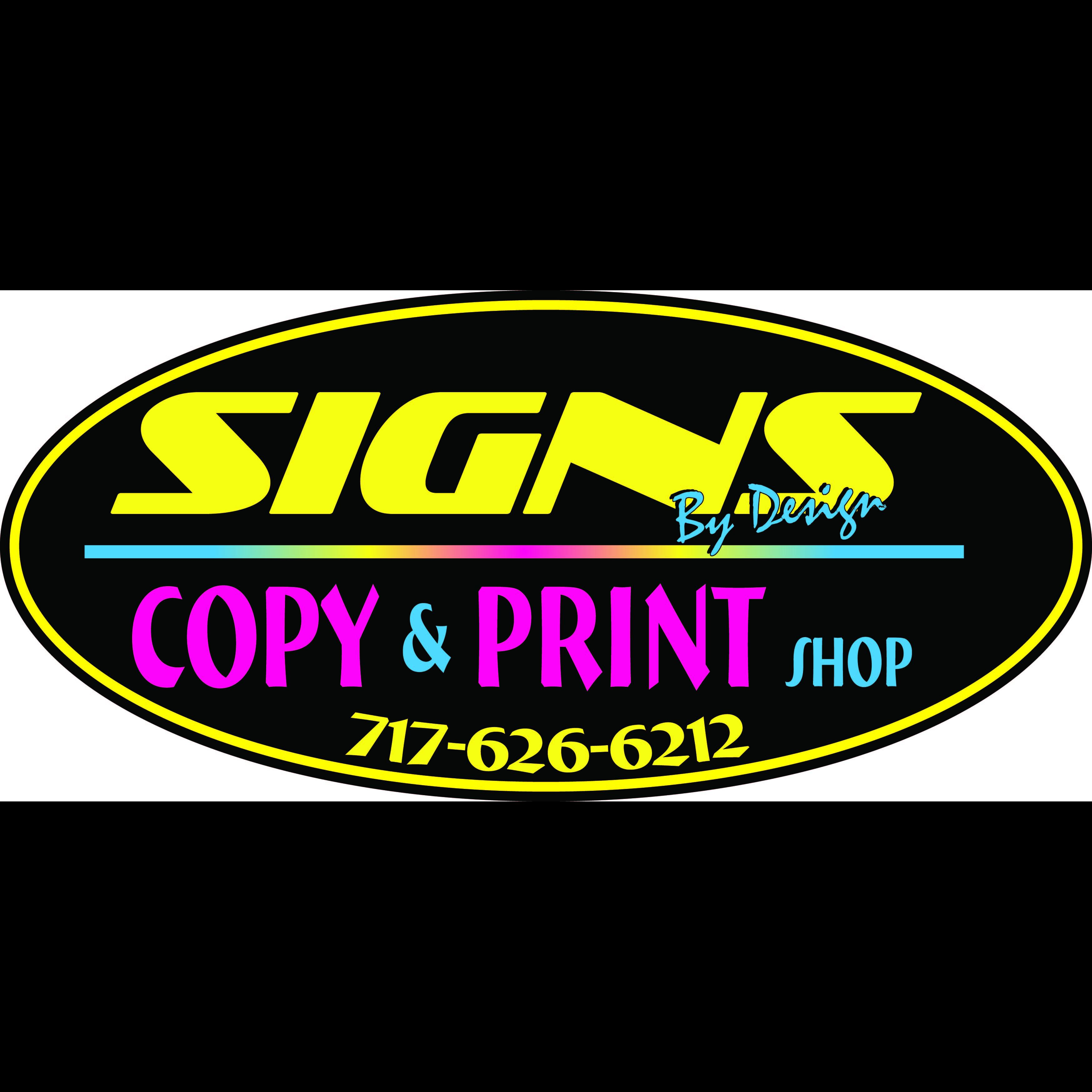 Signs By Design Inc.