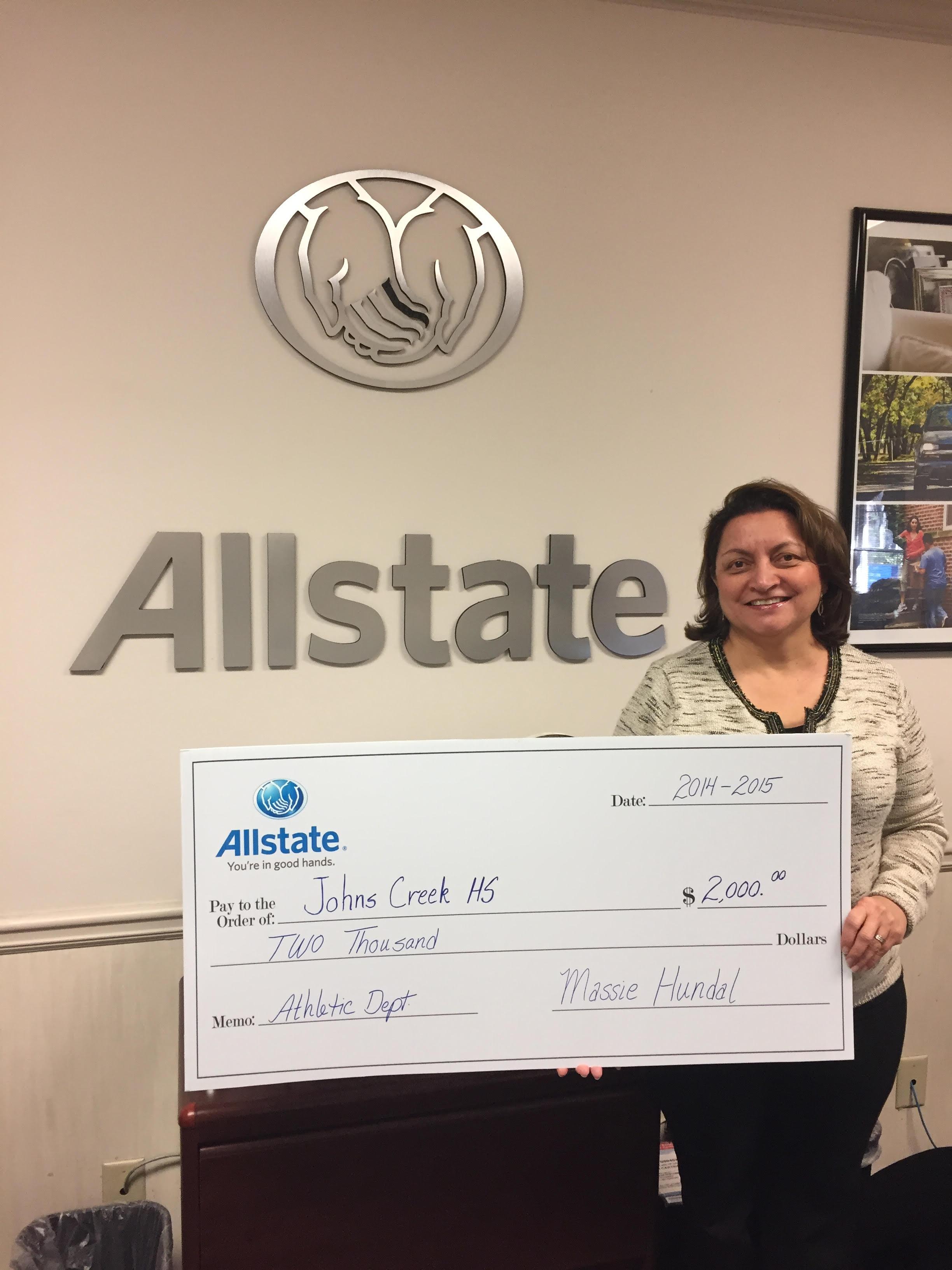Allstate Insurance Agent: Massie Hundal