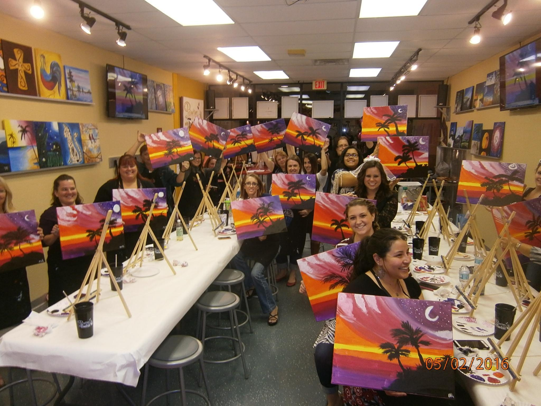 Painting with a twist port charlotte fl company page for Painting with a twist charlotte nc
