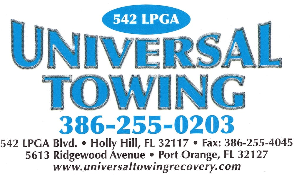 Dont get stuck! Call Universal Towing at 386-255-0203. We tow 24-hours a day!