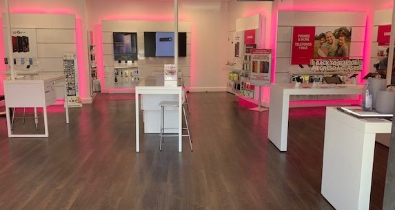 Interior photo of T-Mobile Store at Ximeno & Pch, Long Beach, CA
