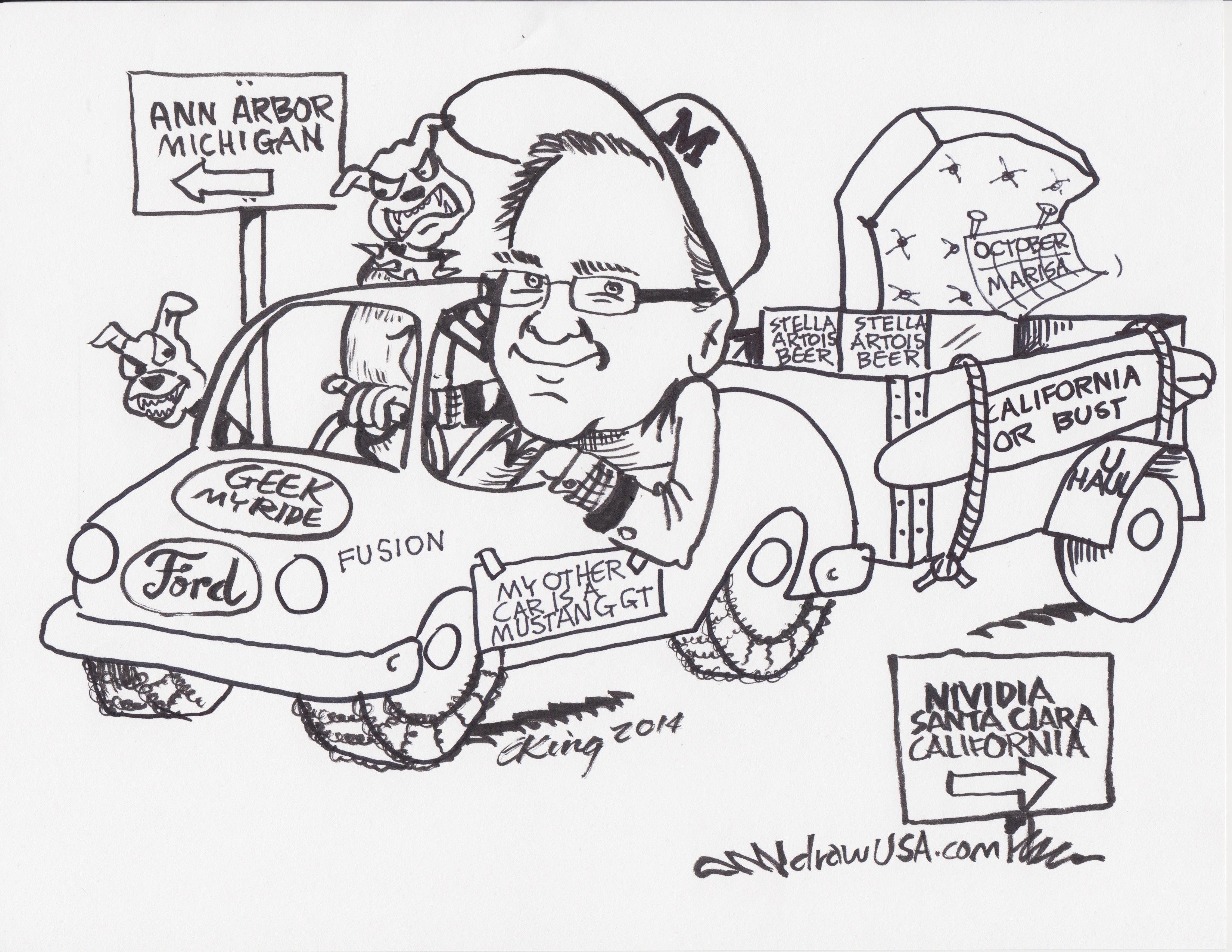 Dallas Cartoonist Charles King