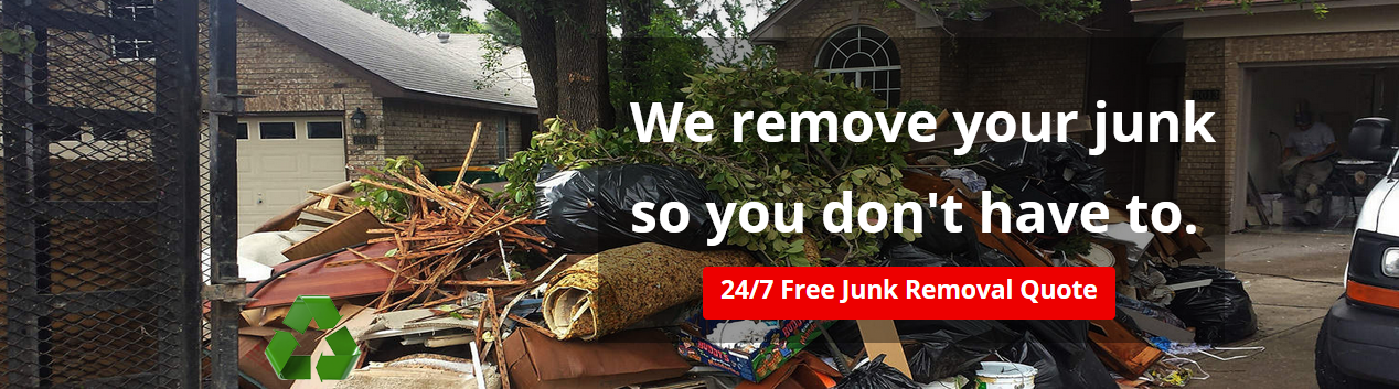 Dallas DFW Metro Area Professional Junk Removal Services for Residential Commercial that includes Trash Removal, Large Appliances, and more. We offer Junk, Debris and Waste Hauling to all of Dallas and Frisco, TX.We'll come to you!