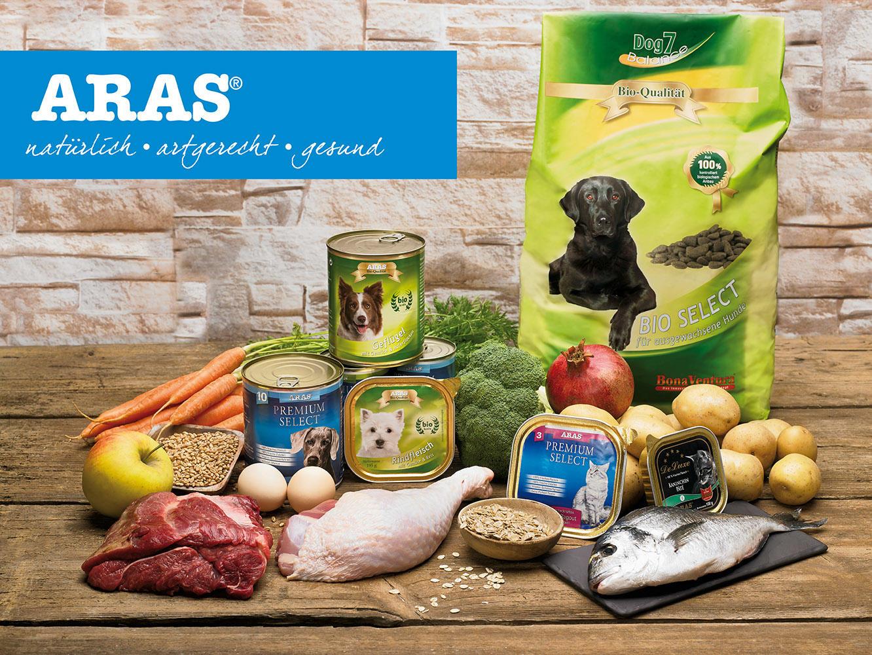 ARAS-Tiernahrung - Unsere Produkte