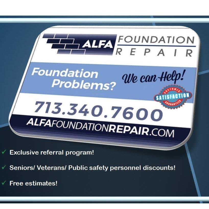 Alfa Foundation Repair