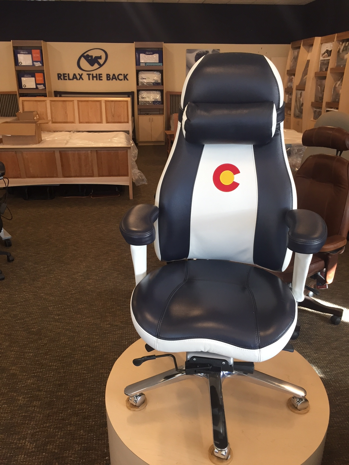 Relax The Back 320 S Colorado Blvd Glendale CO Furniture Stores