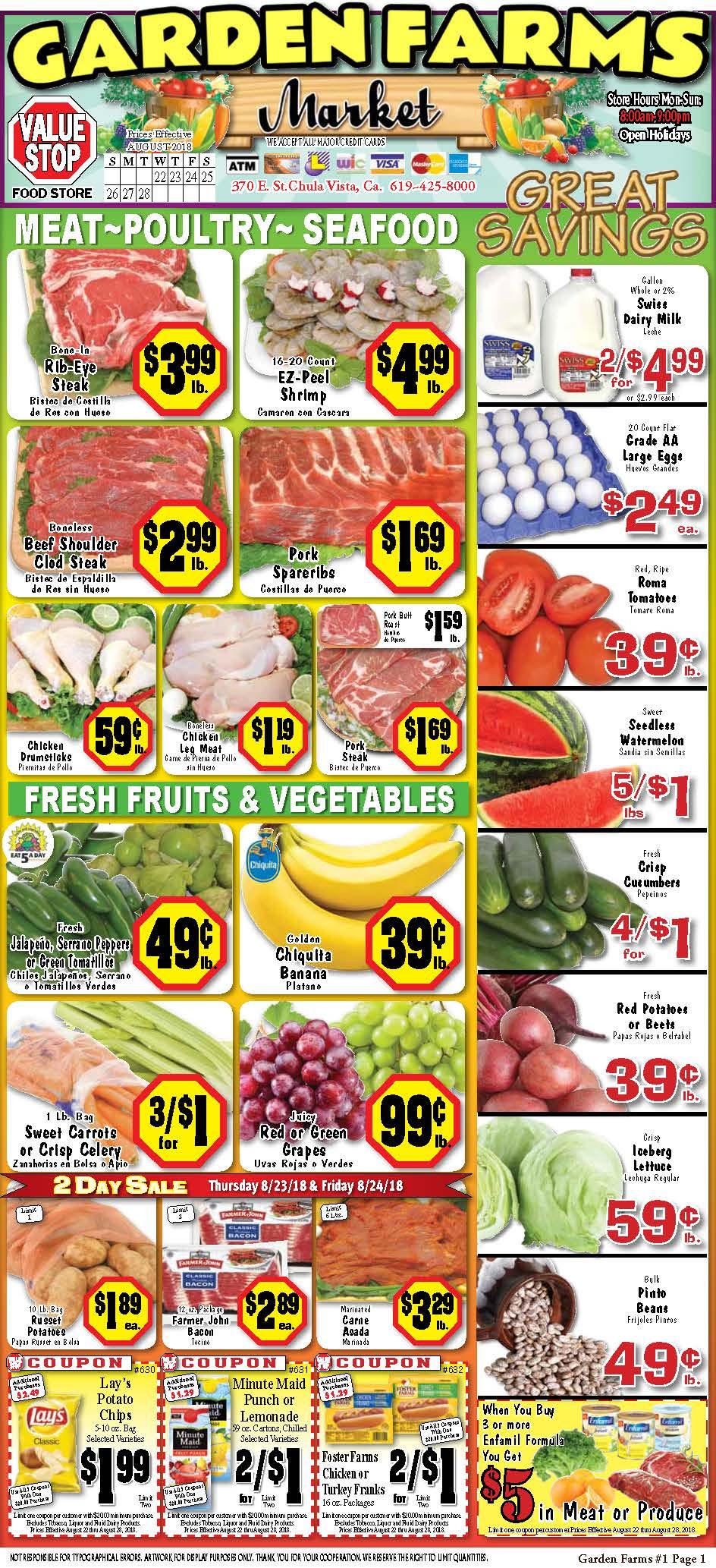 Garden Farms Market Chula Vista image 0