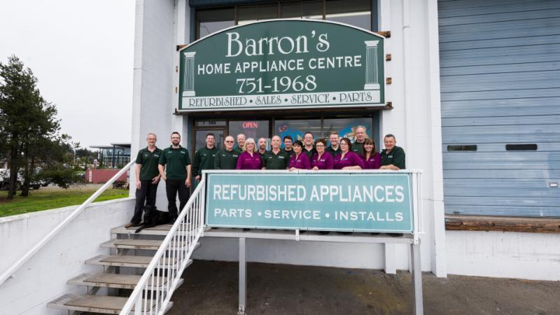 Barron's Home Appliance in Nanaimo