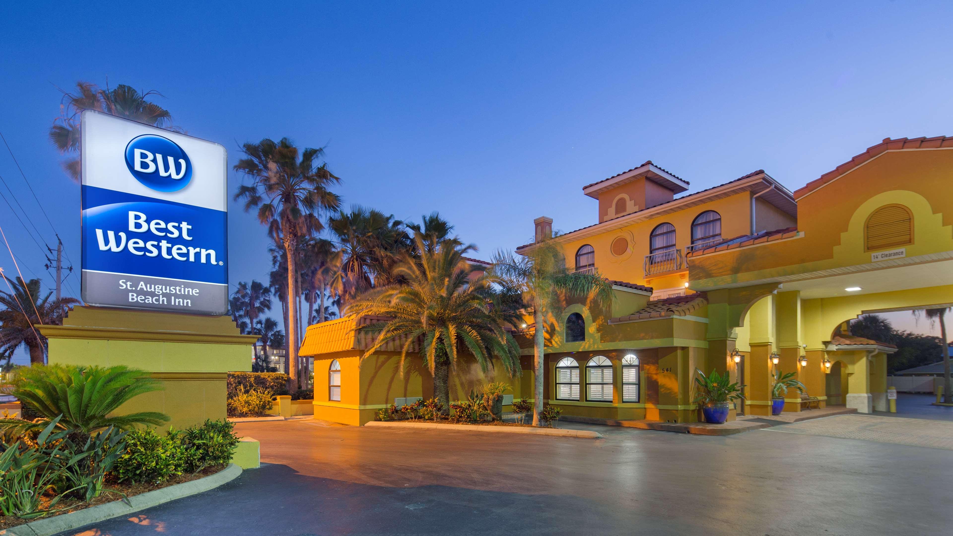 Best Western St Augustine Beach Inn St Augustine Beach Fl