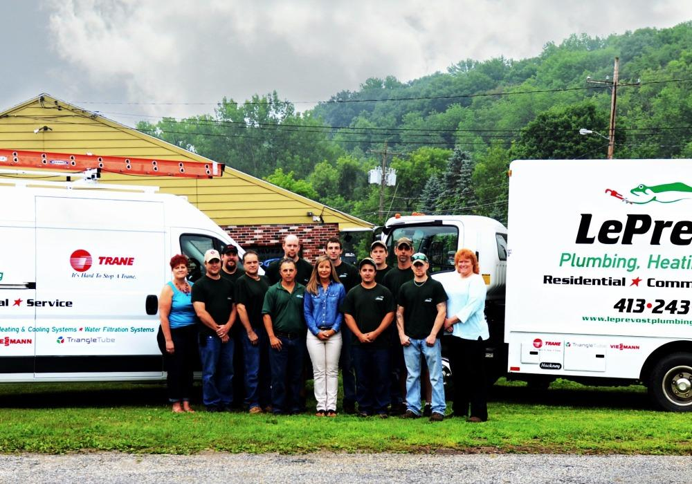 Le Prevost Plumbing Heating & Cooling image 0