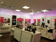 Interior photo of T-Mobile Store at Central Mall 6, Lawton, OK