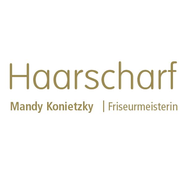 Logo von Mandy Konietzky Haarscharf