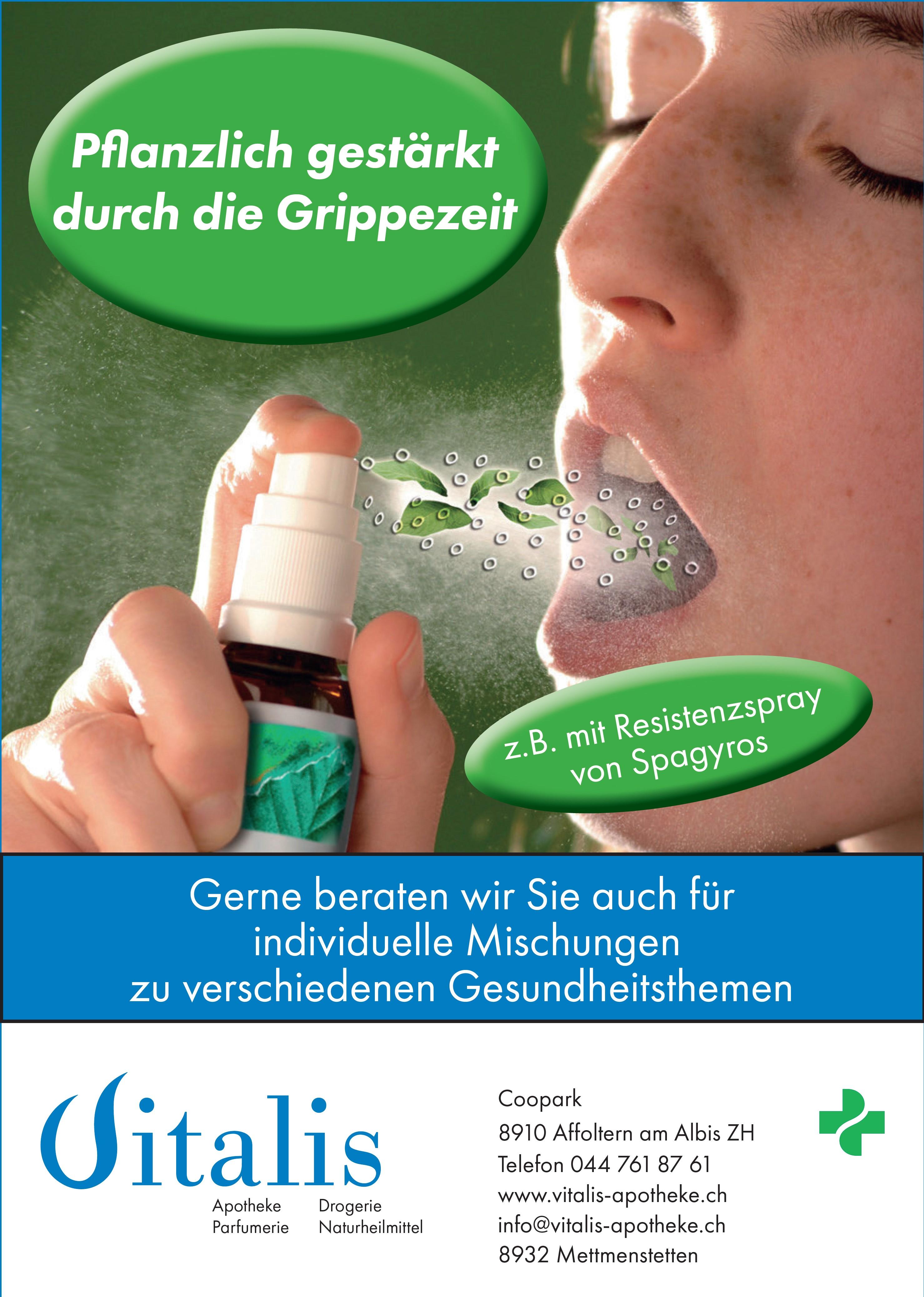 Vitalis Apotheke Drogerie Parfümerie