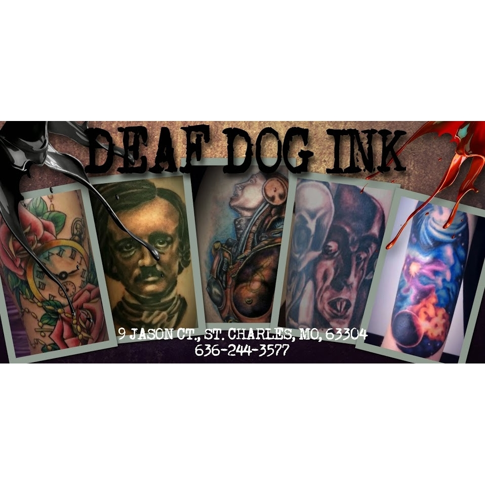 Deaf dog ink tattoo studio coupons near me in st charles for Tattoo deals near me