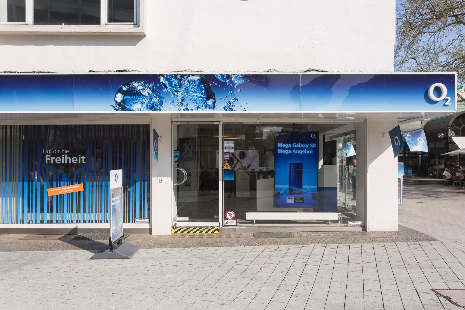 o2 Shop, Bahnhofstr. 1 in Hannover