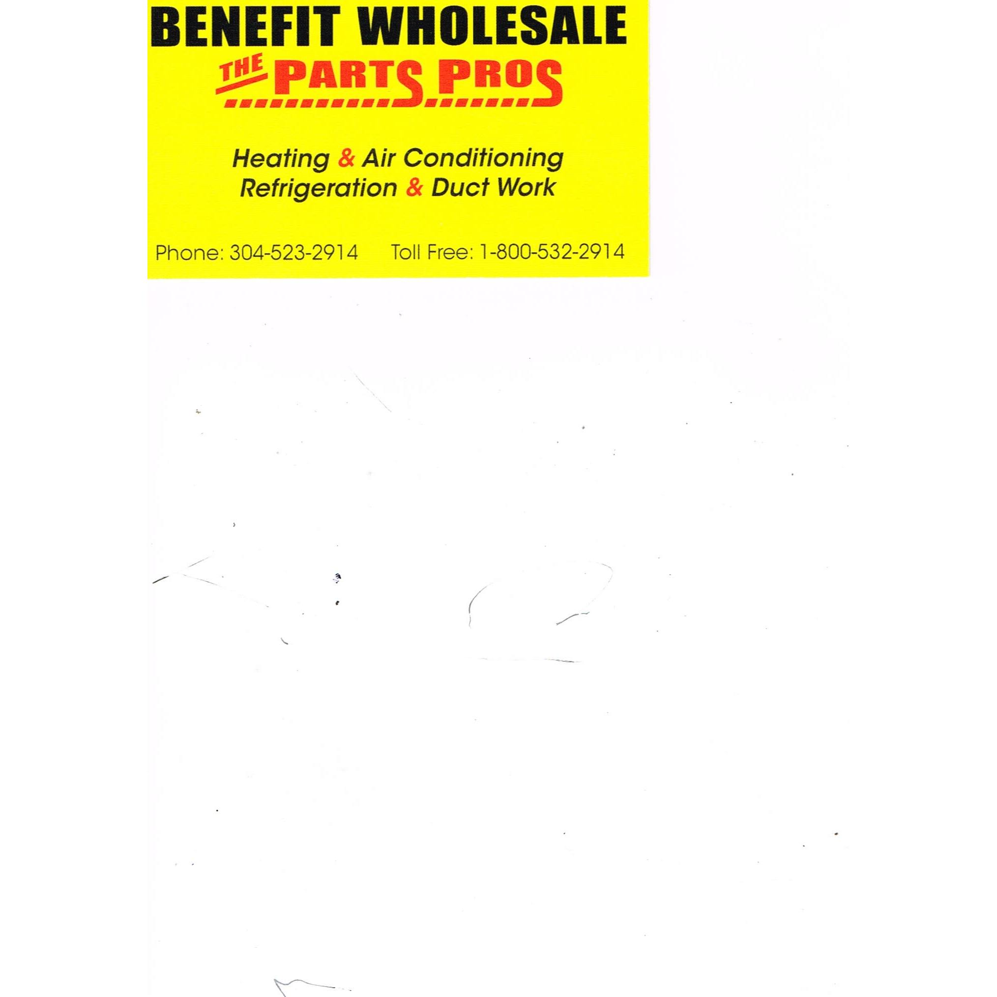 Benefit Wholesale Equipment