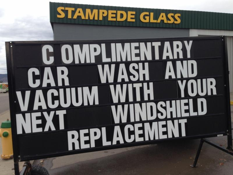 Stampede Glass in Williams Lake