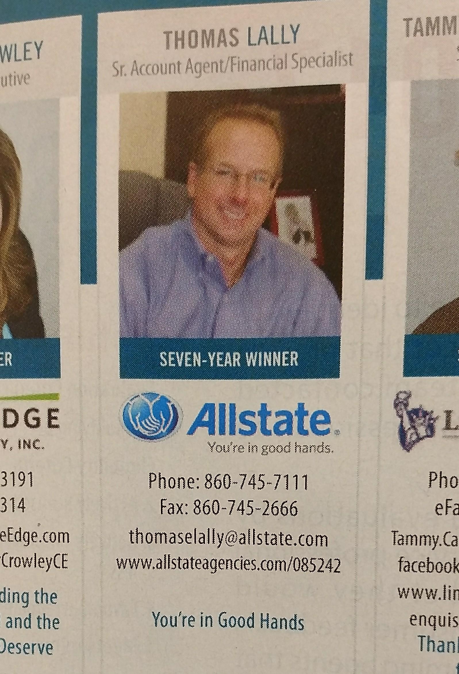 Thomas Lally: Allstate Insurance