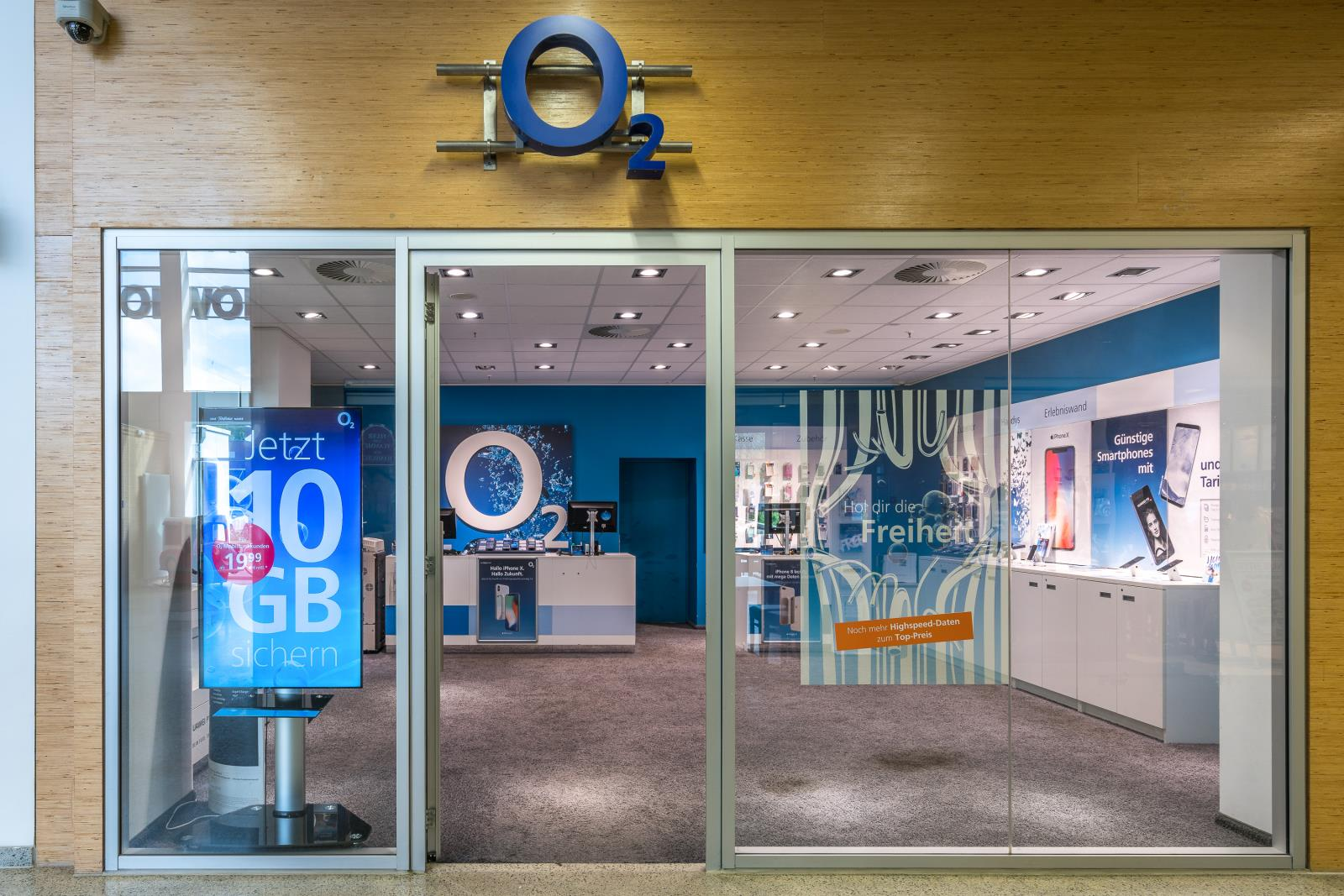 o2 Shop, Wilhelm-Strauß-Weg 4 in Hamburg