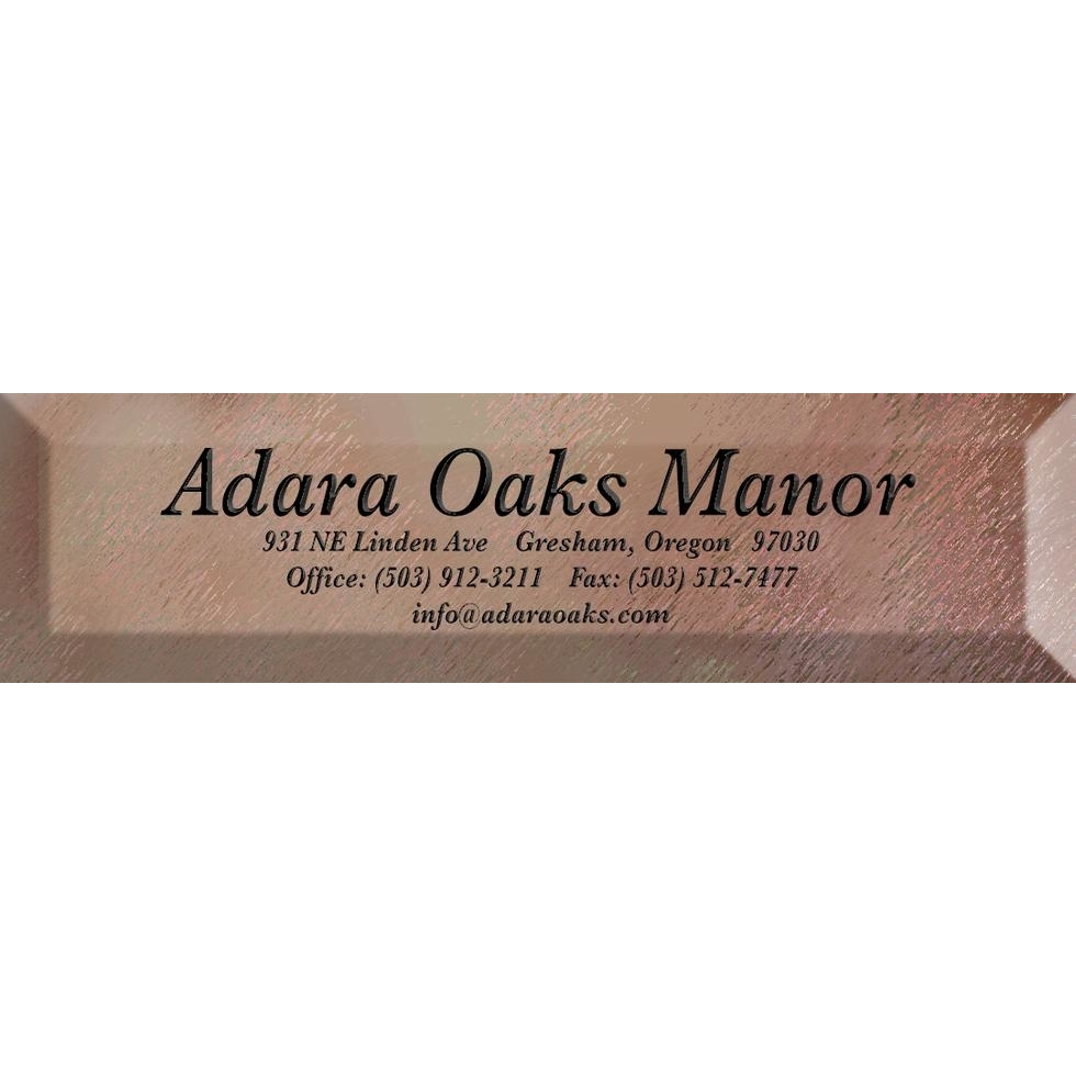 Adara Oaks Manor - Residential Care Facility