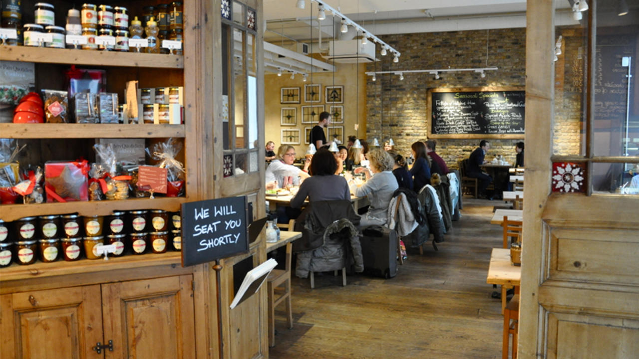 Le Pain Quotidien At 128 Wilton Road London Greater London