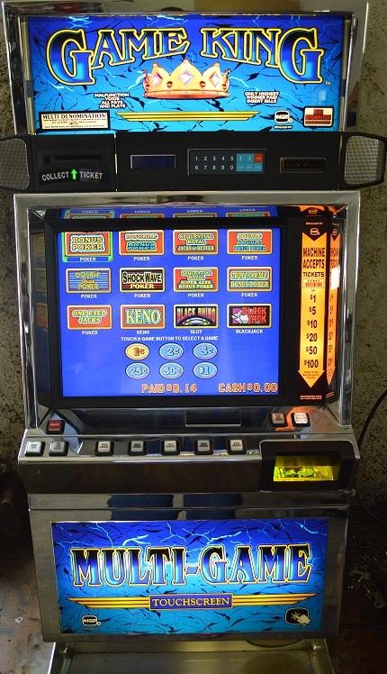 Touch screen slot machines sports gambling law