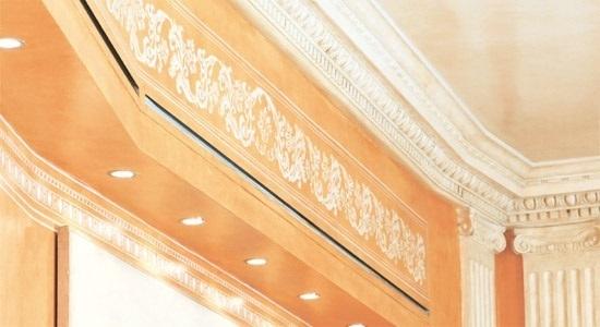 Stucchi cecere elementi di rivestimento roma italia - Stucchi decorativi per interni ...
