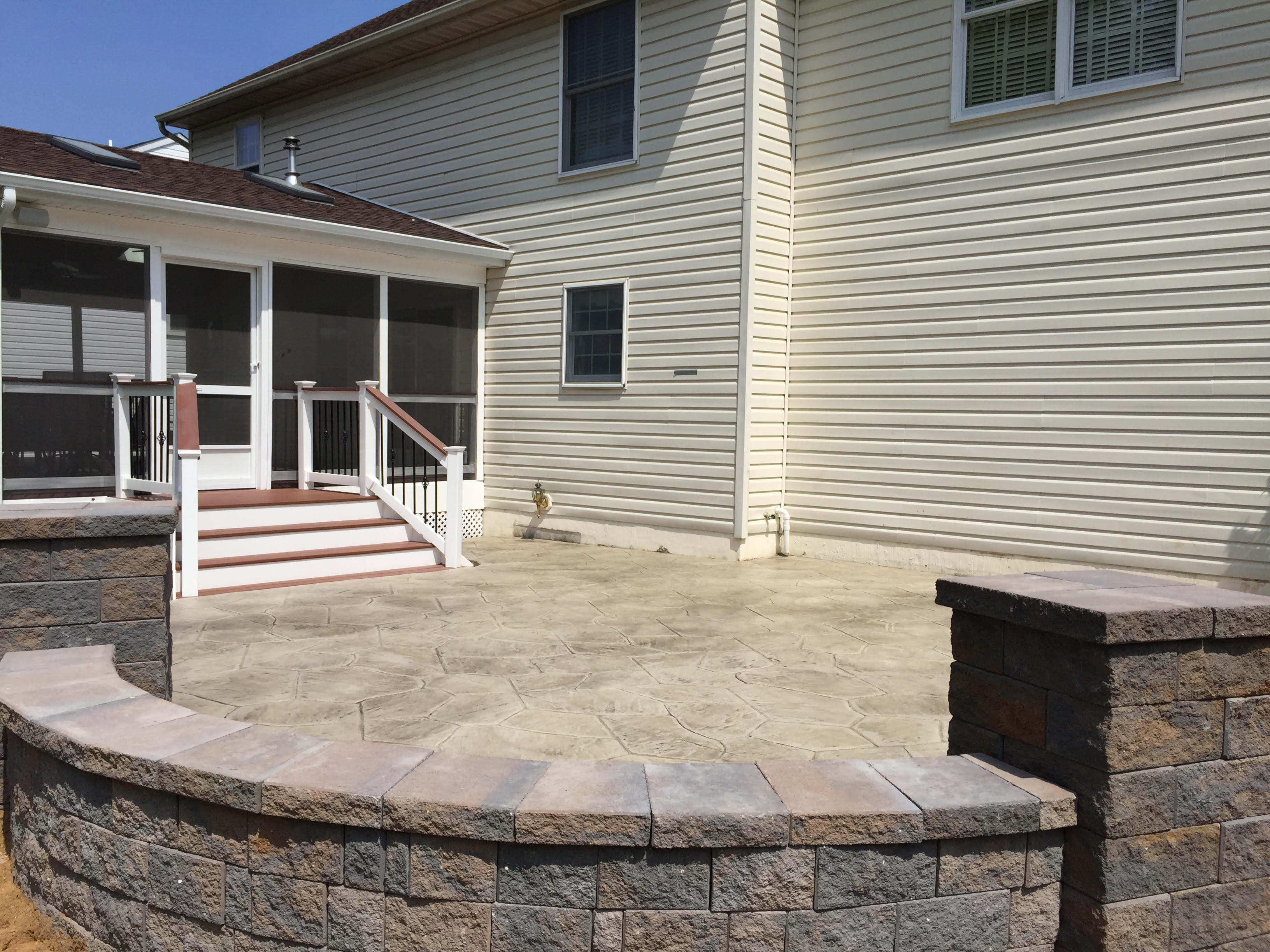 Artistic Stamped Concrete image 1