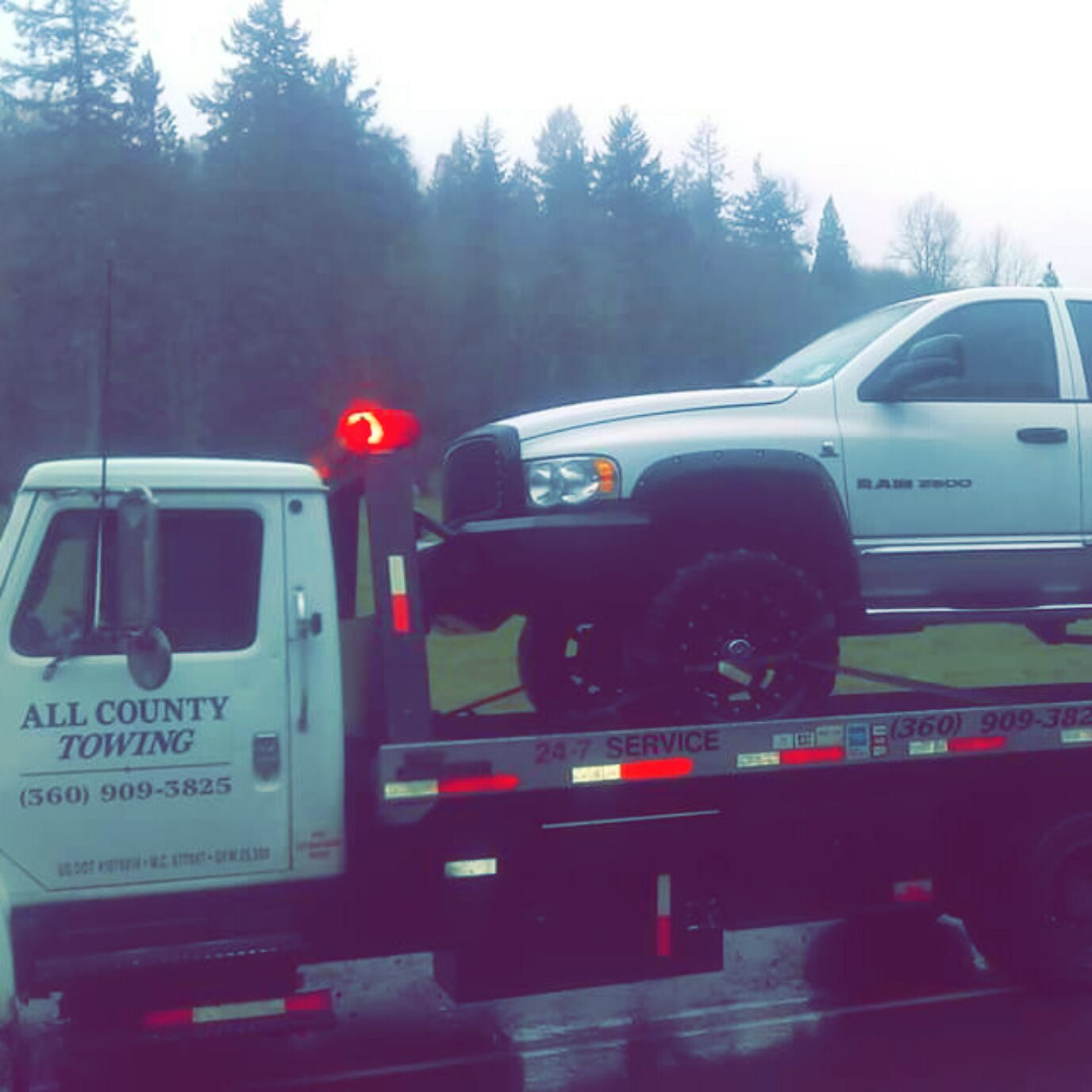 all county hook up towing