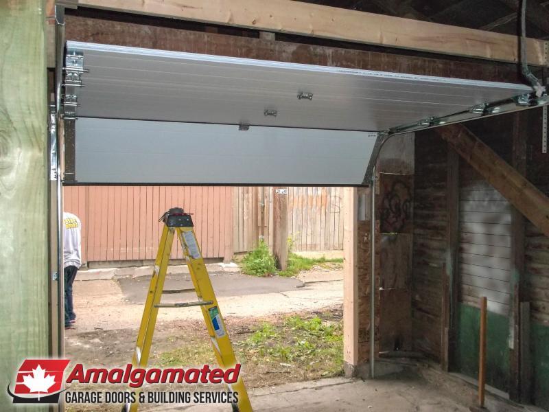 Amalgamated Garage Doors & Building Services in Winnipeg