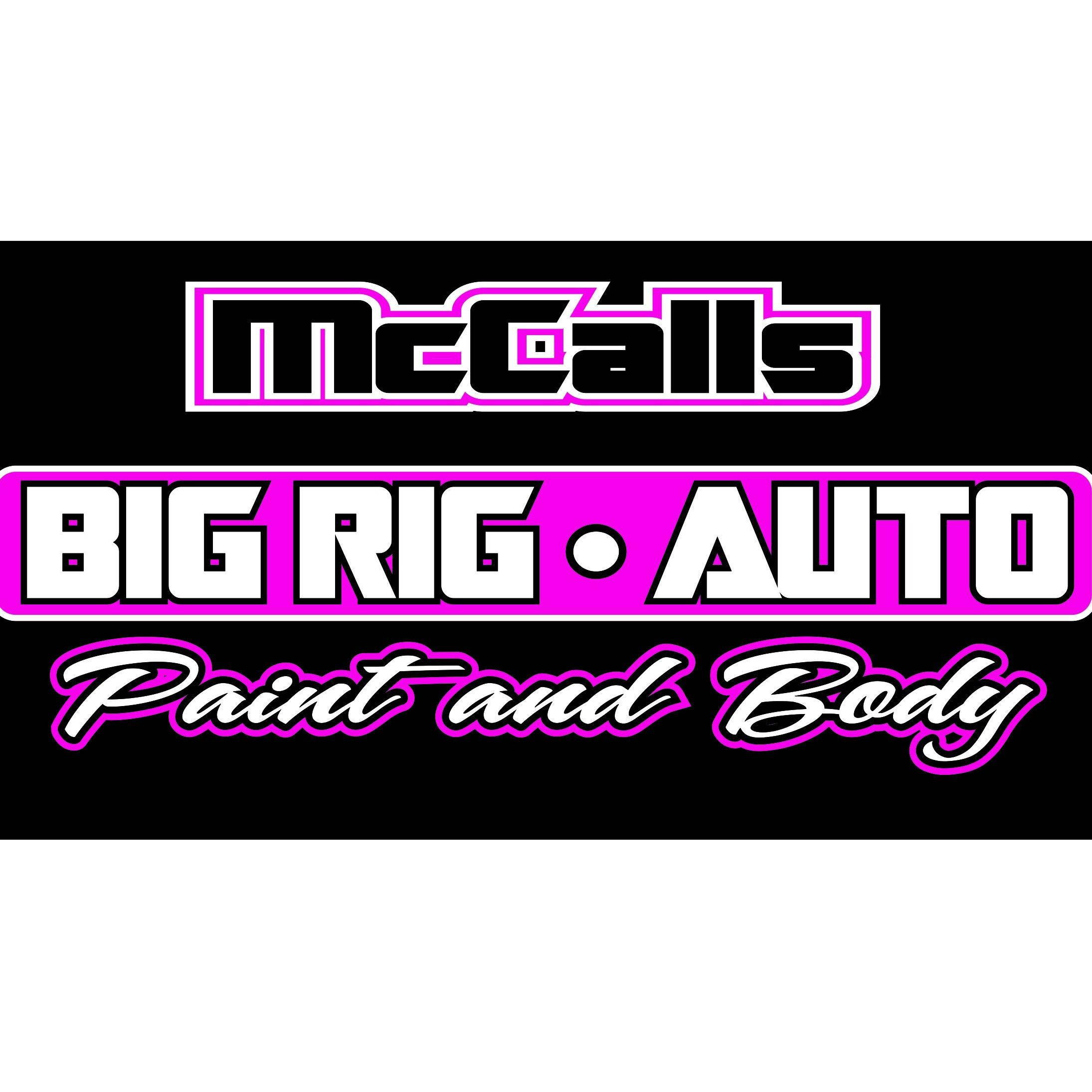 McCall's Big Rig & Auto Paint & Body