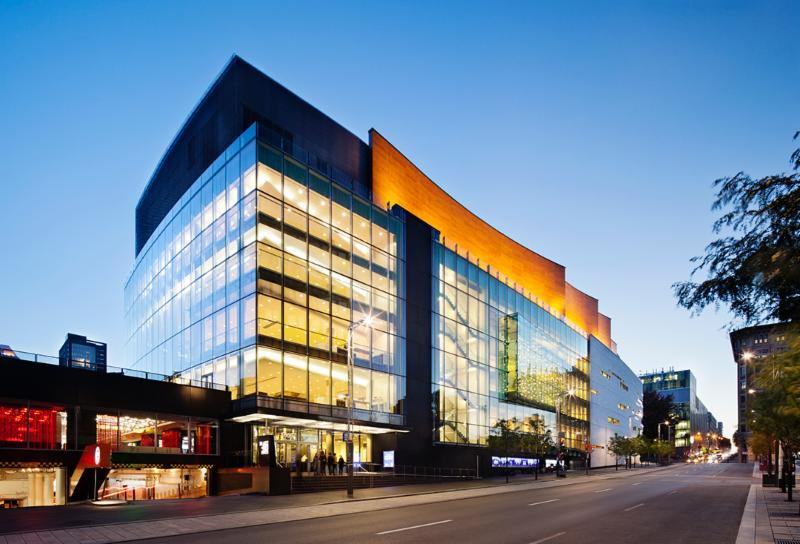 Aedifica à Montréal: Architecture, Sustainable Design - Maison symphonique, Montréal