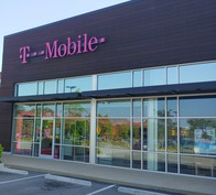 Exterior photo of T-Mobile Store at Peachtree Blvd & Johnson Ferry Rd, Chamblee, GA