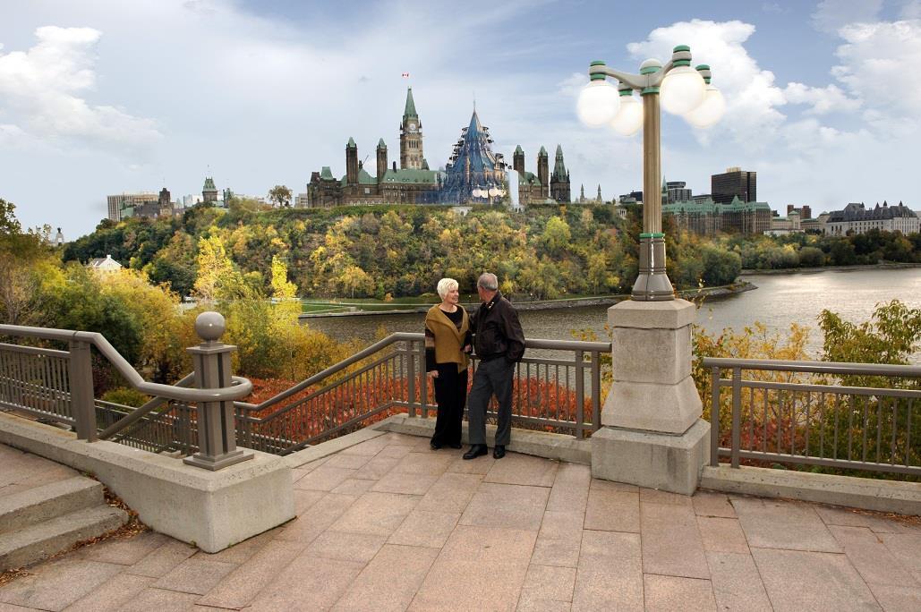 Best Western Plus Gatineau-Ottawa à Gatineau: View of Parliament Hill