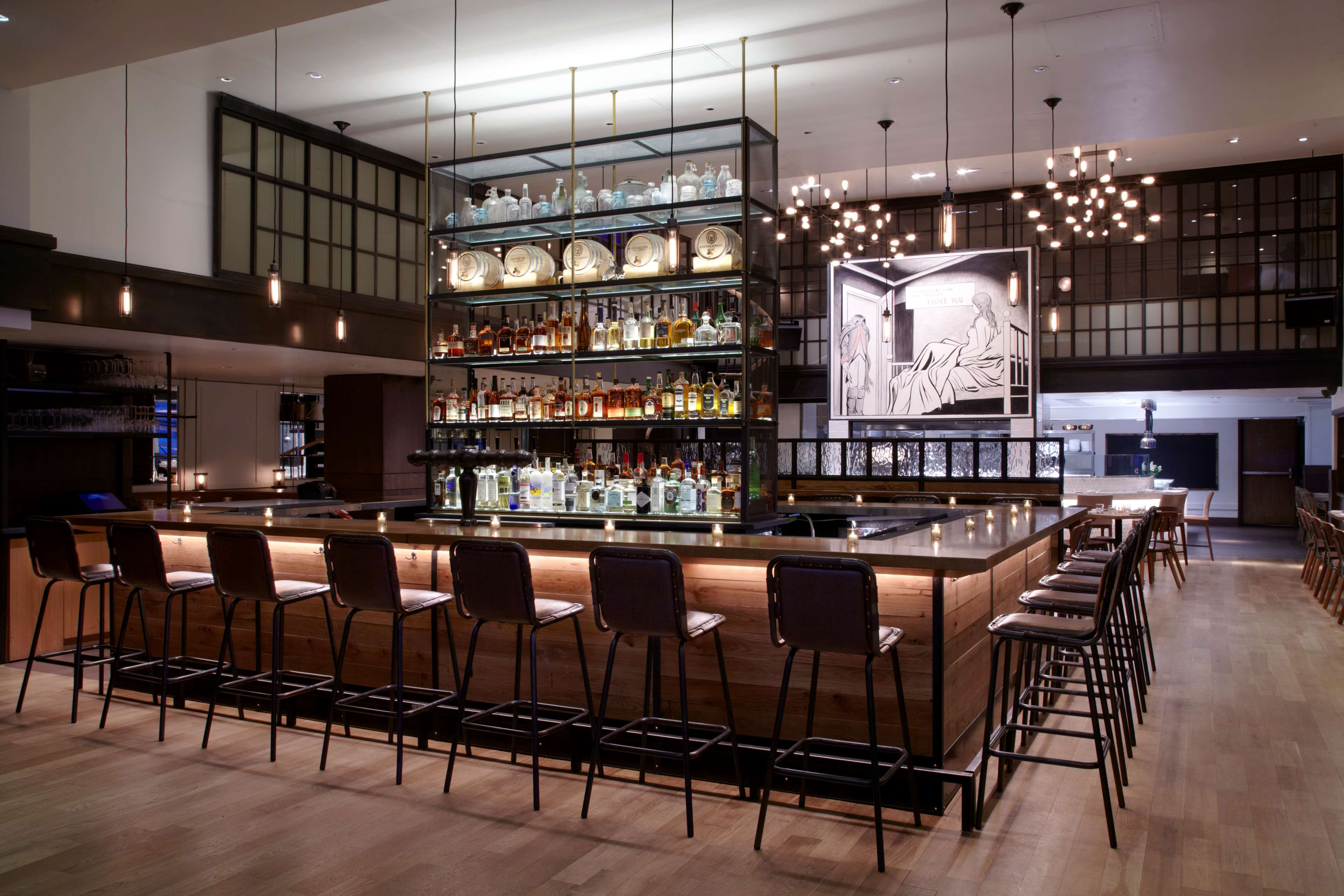 W new york union square at 201 park avenue south new - The living room at the w union square ...