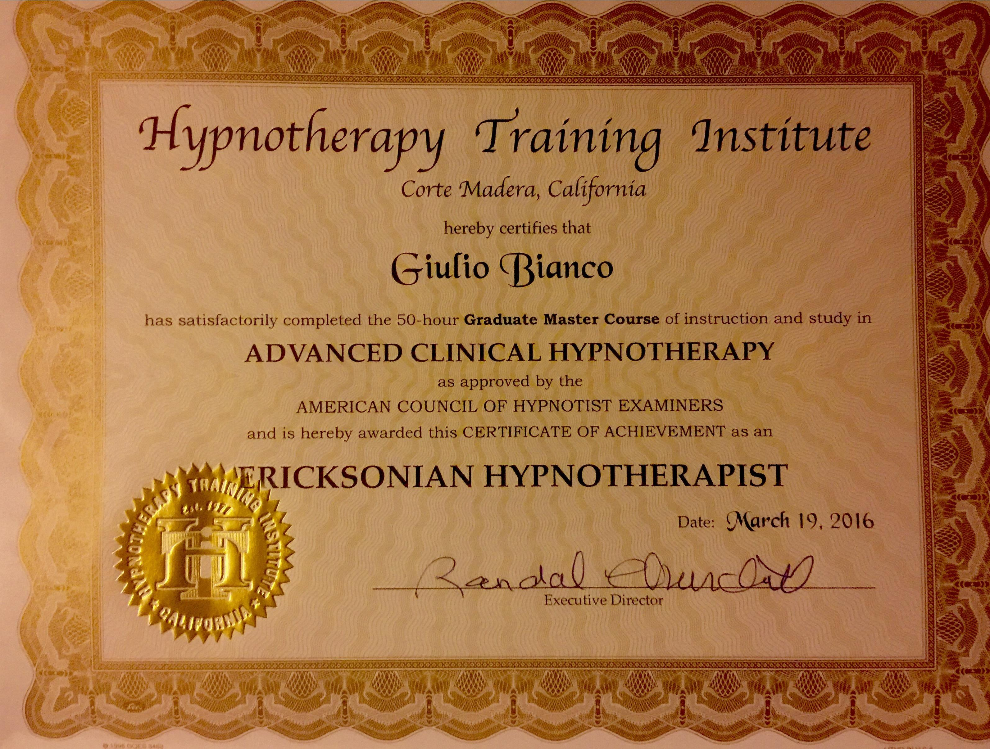 Hypnosis, Regression, Psychobiology, New York image 4
