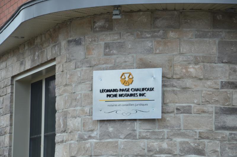 Notaires Léonard Pagé Chalifoux Piché à Sainte-Agathe-des-Monts
