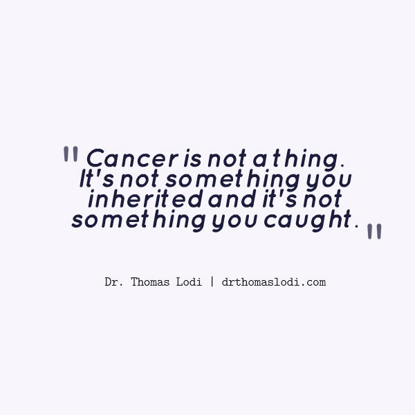 Learn the truth about cancer and how to heal from it without harming the body. 480-834-5414