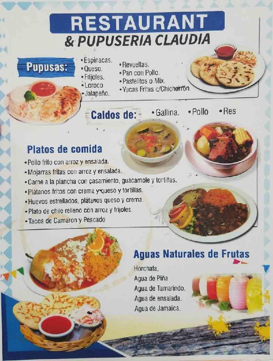 Restaurant & Pupuseria Claudia image 6