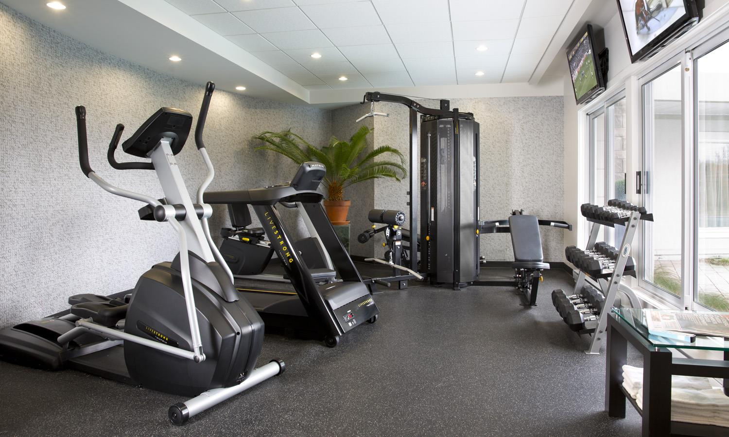 Best Western Premier Hotel Aristocrate à Quebec: Fitness Center