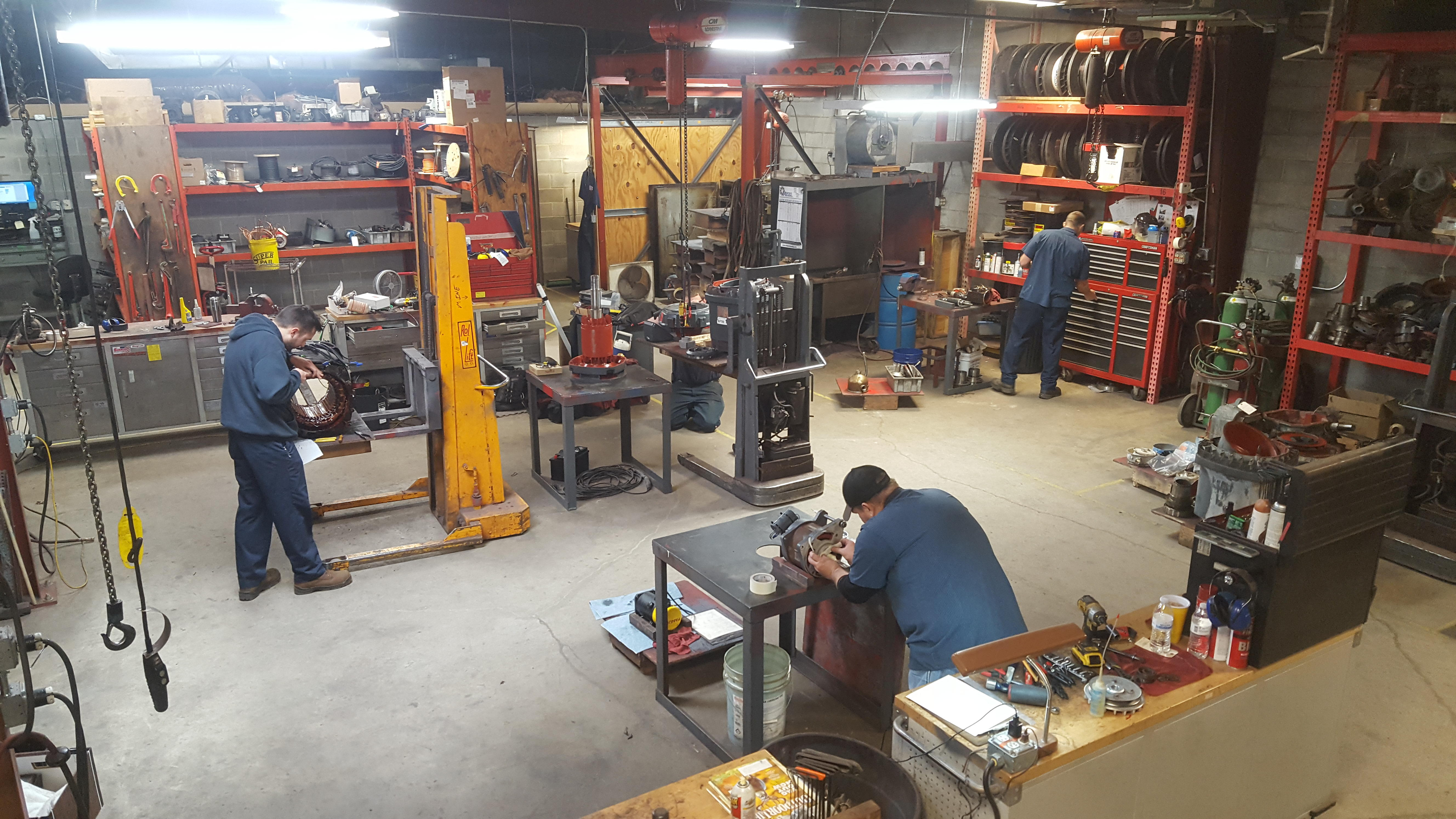 South bend in enyart electric motor repair find enyart for Electric motor repair company