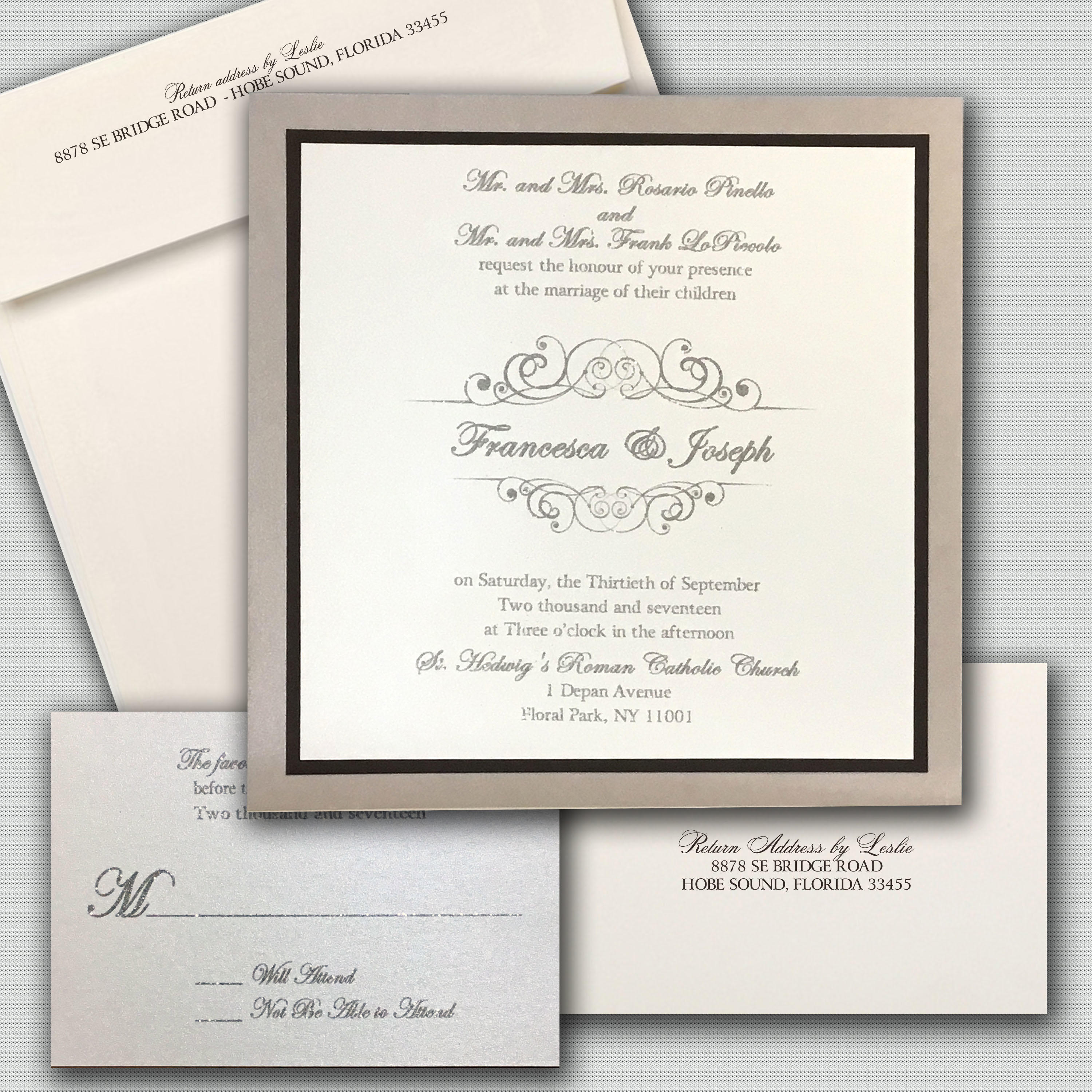 Leslie Store Wedding Invitations & Stationery image 1