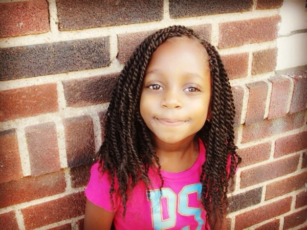 Kinky Twist Hairstyles for Kids