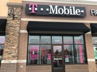Exterior photo of T-Mobile Store at S Robert St & Lothenbach Ave, St Paul, MN
